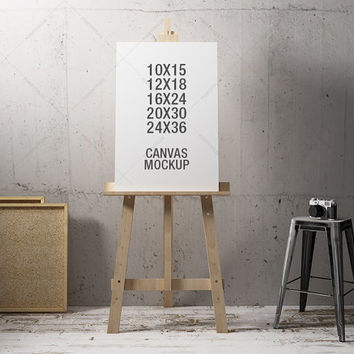 Frame Mockup / Poster Frame Photography Style / 10x15 12x18 16x24 20x30 24x36  / Poster Mockup / poster  mockup / canvas mockup /