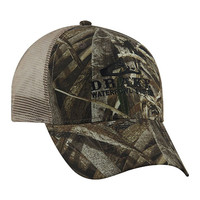 Drake Waterfowl Camo Meshback Hat