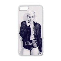 Sexy Protective Miley Cyrus Apple Iphone 5C Case Cover TPU