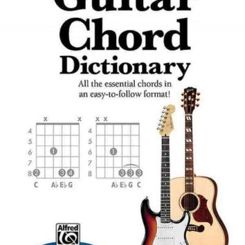 VONW9Z Guitar Chord Dictionary: All the Essential Chords in an Easy-to-Follow Format (Mini Music Guides)