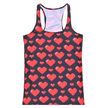 Running Vests Jogging Best Selling Girls Sports Tank Tops Women Sexy Sleeveless T Shirt Clothes Elastic Yoga s Camisole Sweet Heart S-4XL KO_11_1