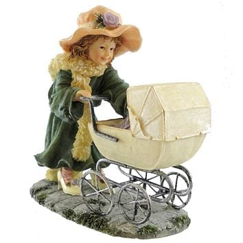 Boyds Bears Resin Isabella Little Mother Figurine