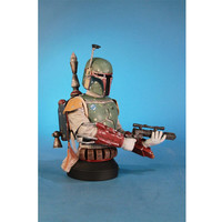 Boba Fett Star Wars Gentle Giant Deluxe SDCC Exclusive Mini Bust