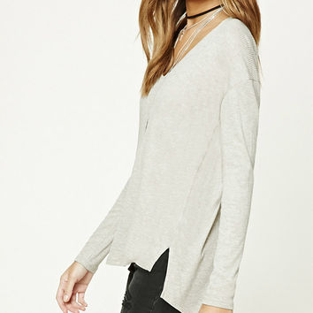 High-Low Hem Top