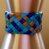 Beach Braided Duct Tape Bracelet