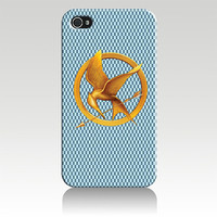 Hunger Games Logo Hard Plastic iPhone 4, 4s, 5 Case Cover