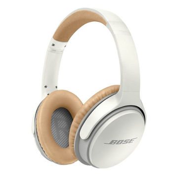 White Tan Wireless Headphones by Bose