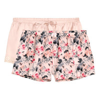 2-pack Satin Shorts - from H&M