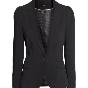 H&M Jacket with puff sleeves $39.95