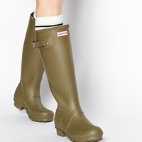 Hunter Originals Olive Wellington Boots