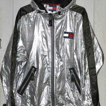 41c4c169 Vintage 90s Tommy Hilfiger Metallic from worldtour90 on Etsy