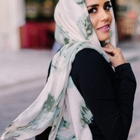 AMALFI (Dusty Mint) - CULTURE Hijab Co.