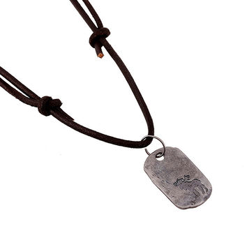 Gift Stylish Shiny Jewelry New Arrival Leather Men Beach Alloy Vintage Accessory Necklace [6526581955]