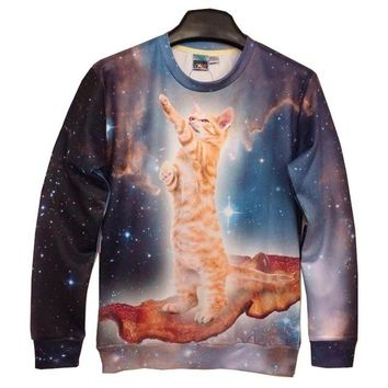 Galaxy Cat Play Sweater