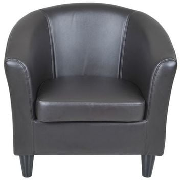 hometrends Faux Leather Tub Chair | Walmart.ca