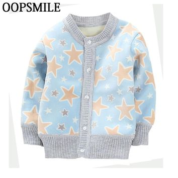 Girls Jacket Spring Autumn cartoon car infant baby boys Jackets For Girls and boys knitted coat Kids Outerwear Children Clothes