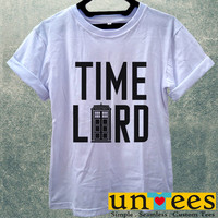 Doctor Who Tardis Doctor Who Time Lord Women T Shirt