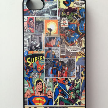 Superman Comic Book iPhone Case