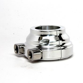 Harley Throttle Housing 1″ Smooth Dual Cable Polished Aluminum