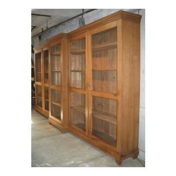 Large Scale Neoclassical Bookcase
