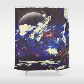 Comet Shower Curtain by DuckyB (Brandi)
