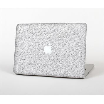 The White Leather Texture Skin Set for the Apple MacBook Air 13""