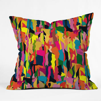Sharon Turner Riot Throw Pillow