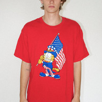 Vintage Garfield USA Tee