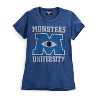 Vintage T Shirt Blue| Store | Monsters University