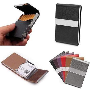 PU Leather Cigarette Case