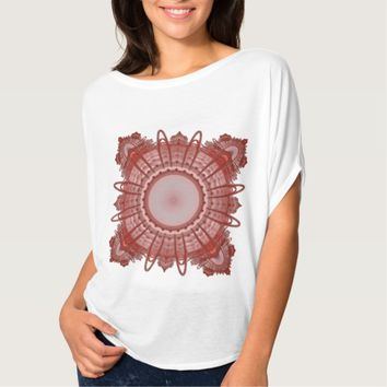 Women's sacred Bella+Canvas Flowy Circle Top