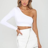 Buy Our Hatty Top in White Online Today! - Tiger Mist