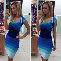 Fashion Women Sexy Mini Dress = 1876650884