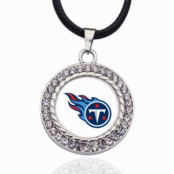 Wimpy kid Tennessee Titans Pendant Necklace Best Gift for /Women/Girl/Men/Mom Pendant Necklaces For Mother's Day Gifts