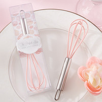 Pink Cooking Whisk Shower Favor
