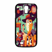 Disney Pixar Toy Story Woody Buzz Retro Samsung Galaxy S4 Case