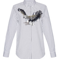 Eagle Embroidered Button-Up Shirt | Moda Operandi