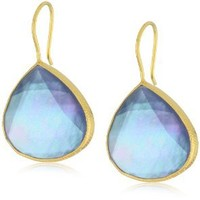 Coralia Leets Jewelry Design Steel Fresh Water Mother-Of-Pearl Doublets Earrings