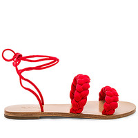 RAYE Talya Sandal in Red | REVOLVE
