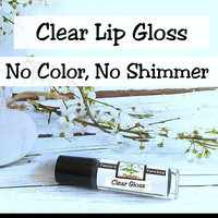 Clear Lip Gloss gives shine without being sticky
