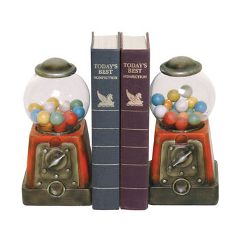 Pair Candy Treasure Bookends