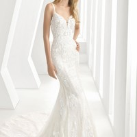 Rosa Clará Debbie Sweetheart Neck Tulle & Lace Mermaid Gown | Nordstrom