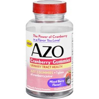 Azo Cranberry Gummies - 40 Count