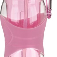 Trudeau Cool Off 16-Ounce Hydration Bottle, BCRF Pink