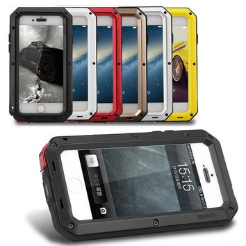 REFUNNEY Full Body Armor for iPhone 5s Rugged Case Tough iPhone 5 Heavy Duty Case Coque iPhone se Shockproof Cover 5se Capinha
