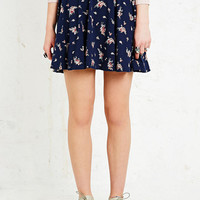 Pins & Needles Skater Skirt in Floral - Urban Outfitters