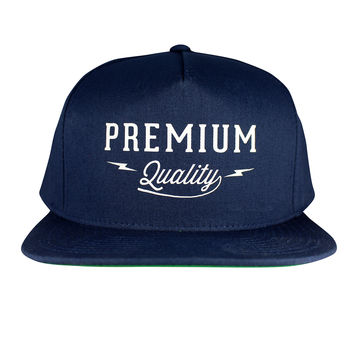 Premium Quality Navy Snap Back