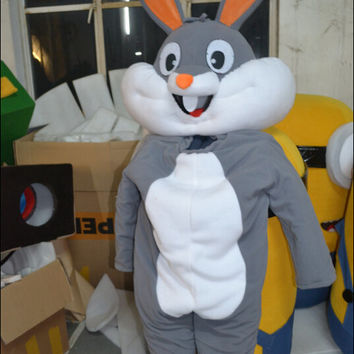 Children Christmas/Xmas Bunny Mascot Costume,Cosplay Costume,Kids Costume,Clothing,Children Costume,Party Costume,Xmas Cosplay,Bunny Cosplay
