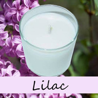 Lilac Scented Candle in Tumbler 13 oz