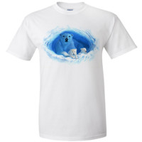 Polar Bear Cave By Royce T-shirt/tee